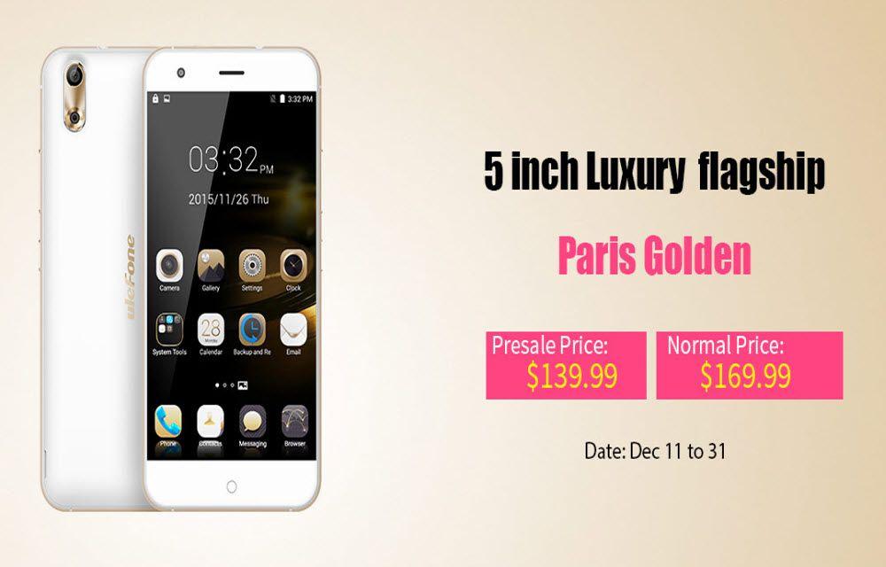 Ulefone Paris Luxury Flagship Discount Sale