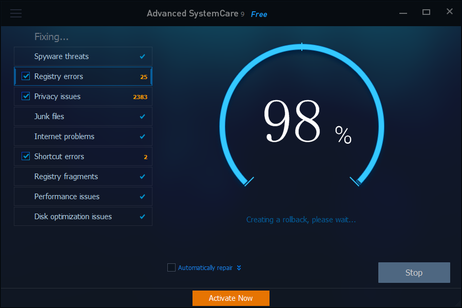 iobit-advanced-systemcare-9-classic-clean-and-optimize-dashboard-fixing