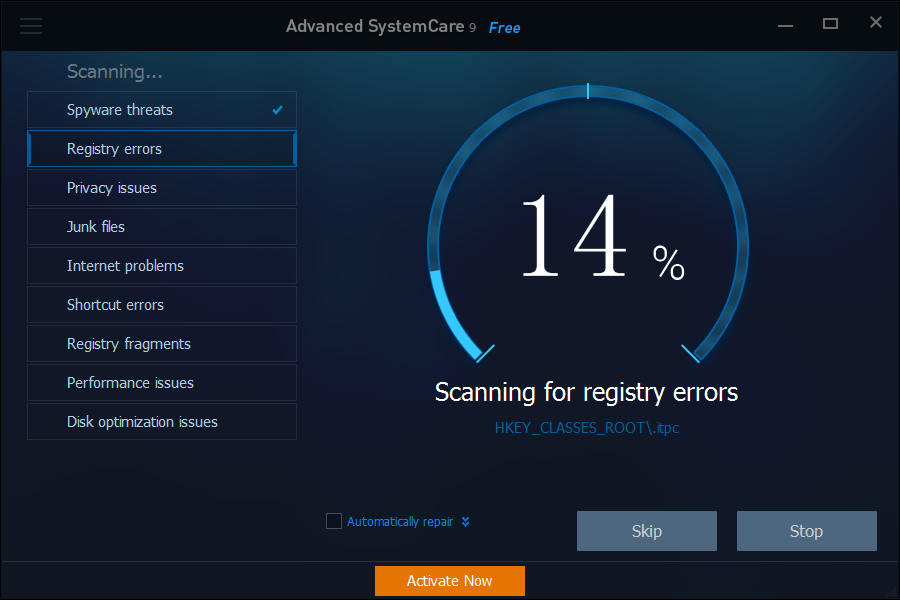 iobit-advanced-systemcare-9-classic-clean-and-optimize-dashboard-scanning