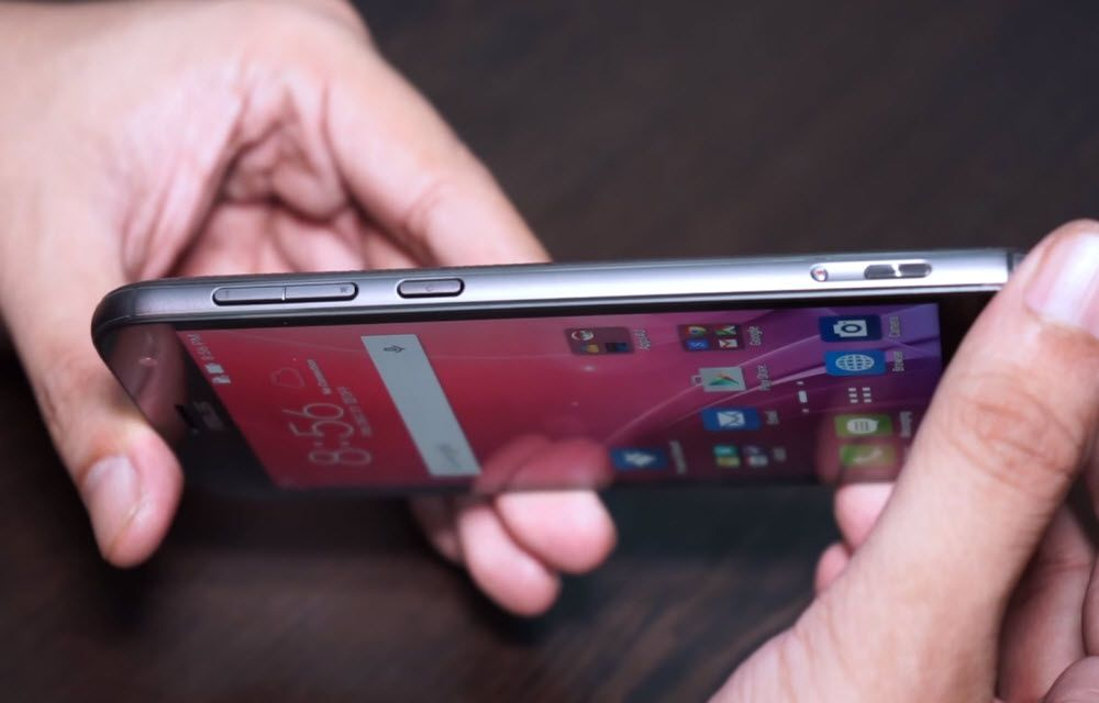 Asus Zenfone Zoom Build Quality