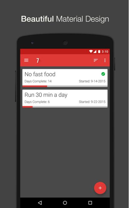 7 Weeks - Habit & Goal Tracker App Review