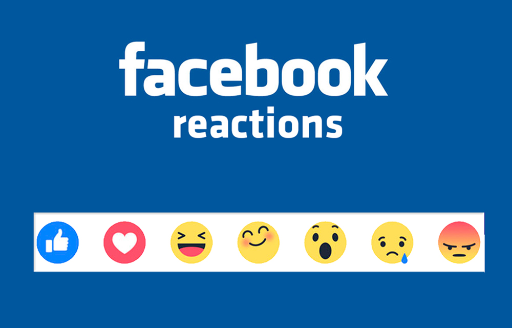 Facebook Launched Reactions Buttons