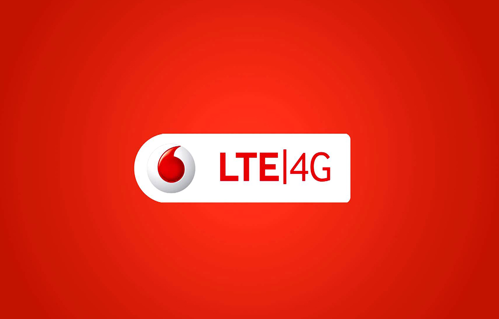 Vodafone Launched 4G