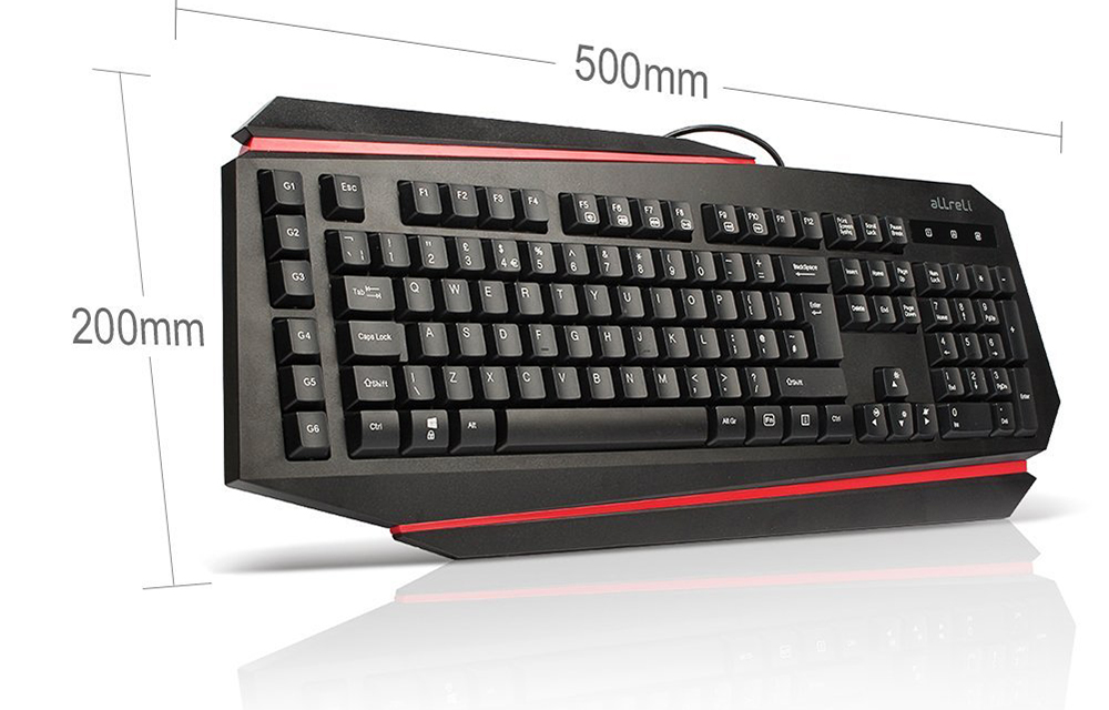 aLLreLi-K9500U-LED-Backlit-Gaming-Keyboard-design