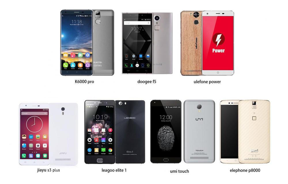 Most Popular Mid-Range Smartphones Comparison