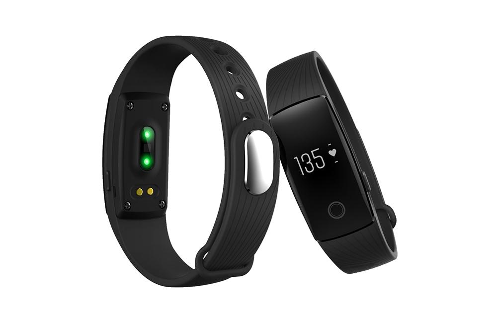 ID107 Bluetooth Smart Watch Heart Rate Monitor Wristband ...