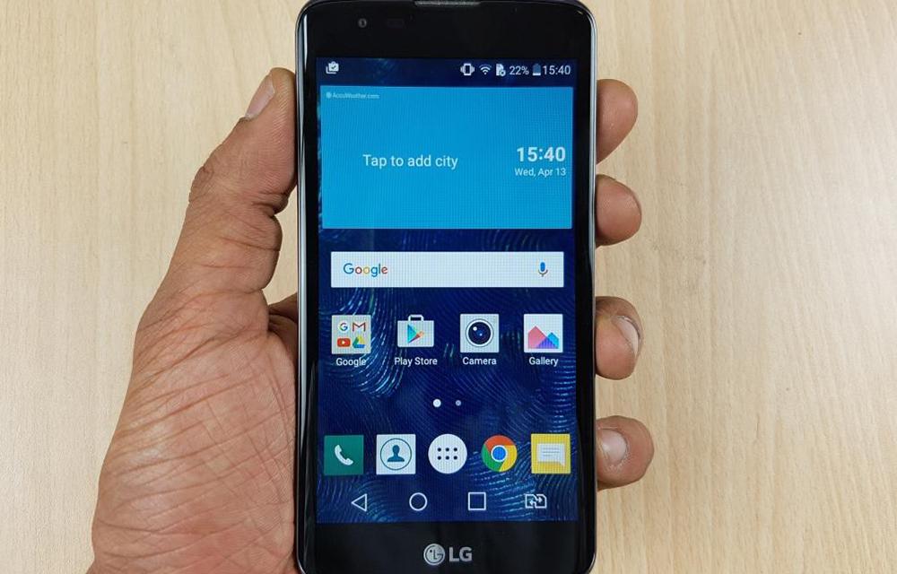 LG K7 LTE Smartphone