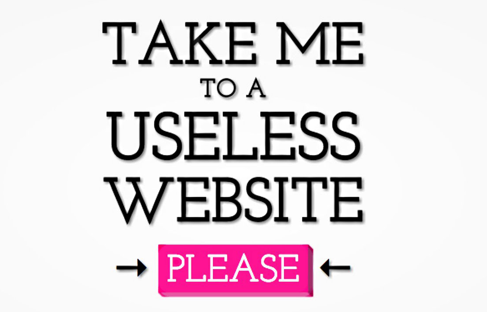 Useless Websites on the Internet (They are also Funny)