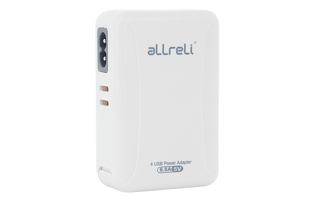 aLLreLi 34W 6 8A 4-Port USB Wall Charger-3