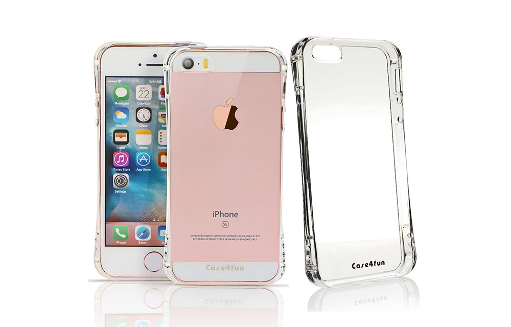 Case4fun Soft TPU Shock Absorbing Case for iPhone SE Review