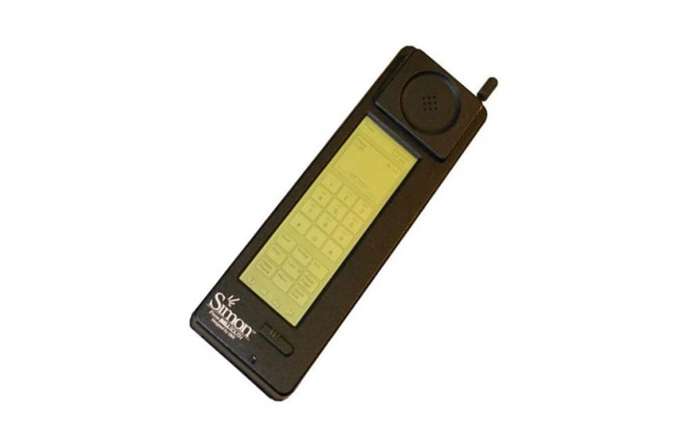 First Smartphone - IBM Simon