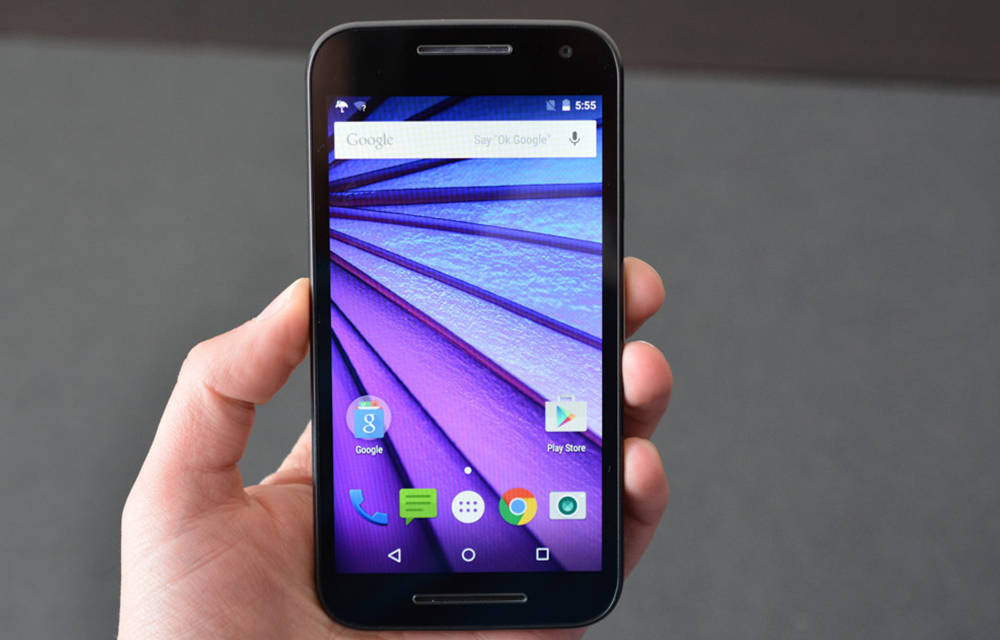How to take screenshots in Motorola Moto g3