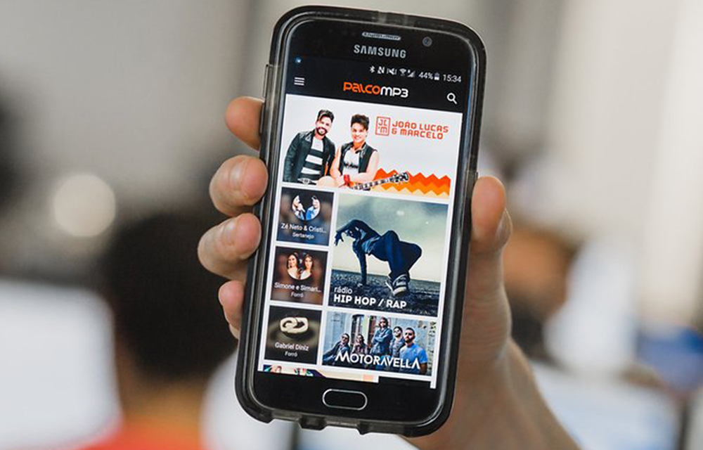 Palco Free music download app for android