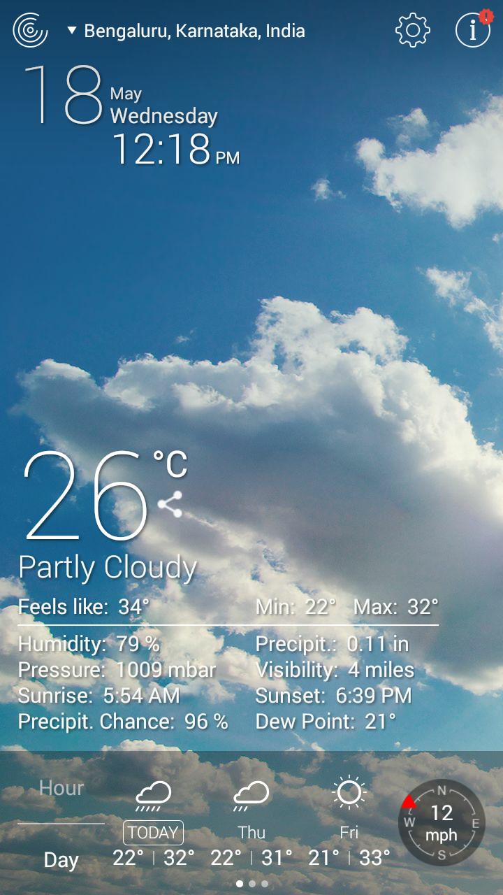 Weather Live Free App-1