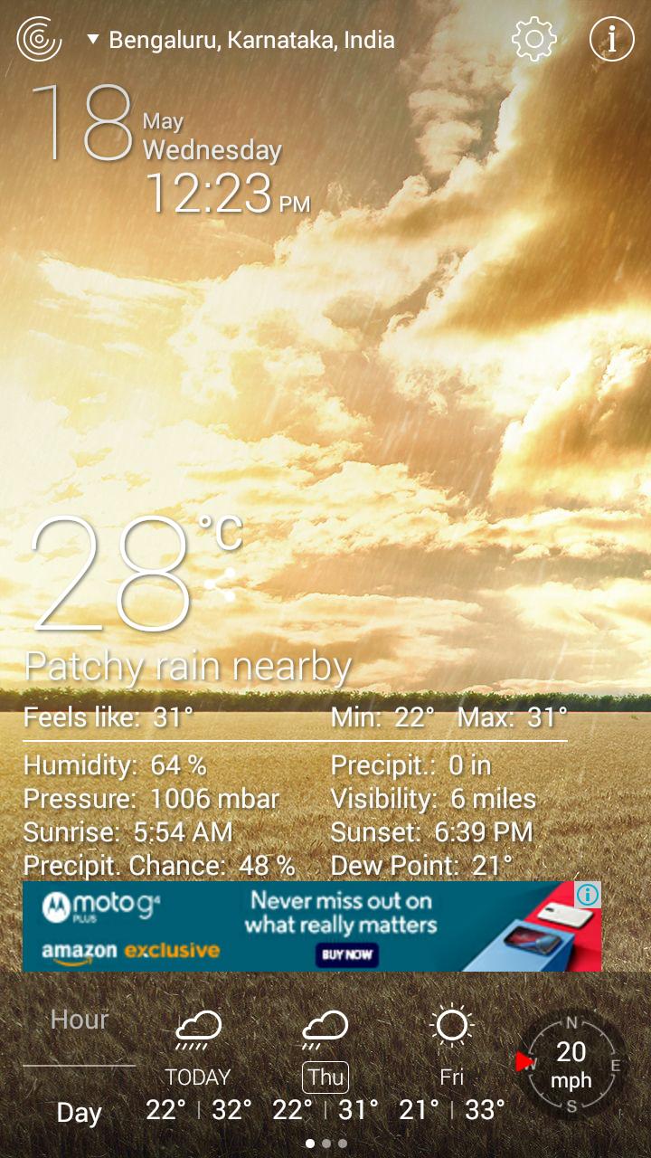 Weather Live Free App-11