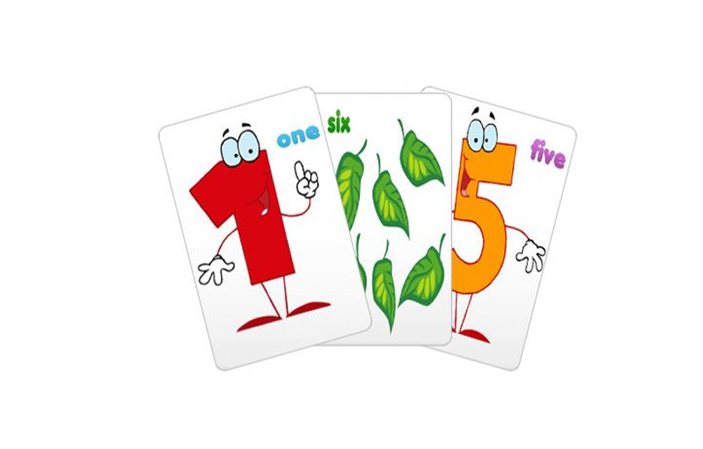 0-10 Numbers Baby Flash Cards