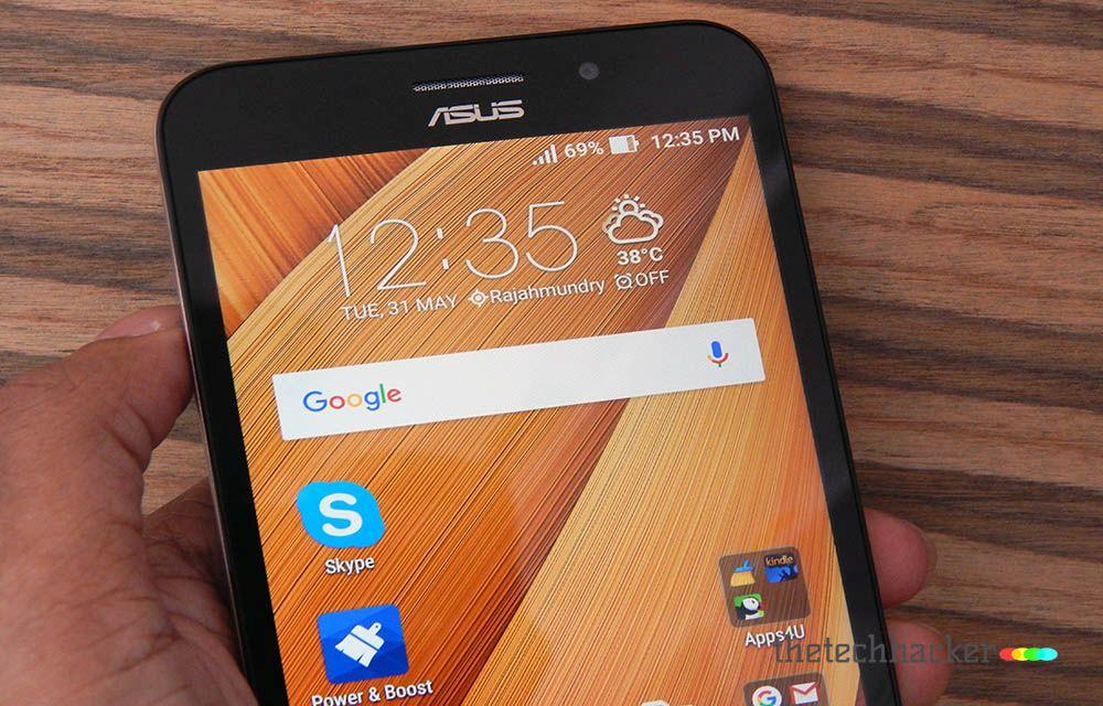 Asus Zenfone Max 2016 Design