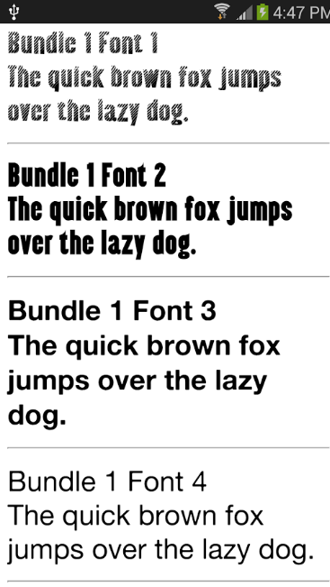 Download Samsung Fonts