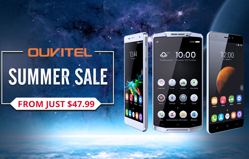 OUKITEL K7000 to Release and Summer Flash Sale