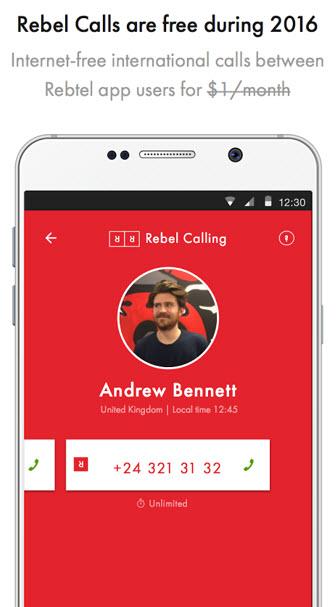 Rebel Calls App