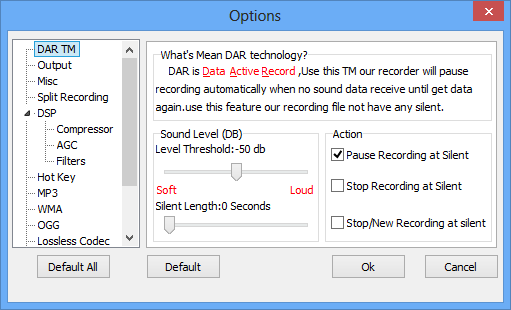 Windows sound recording software