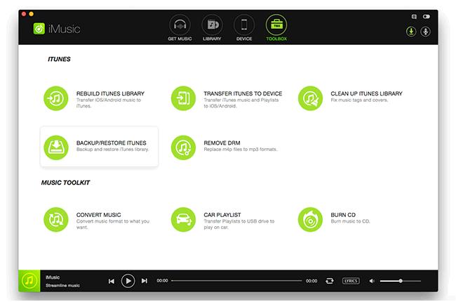 iSkysoft iMusic Toolbox