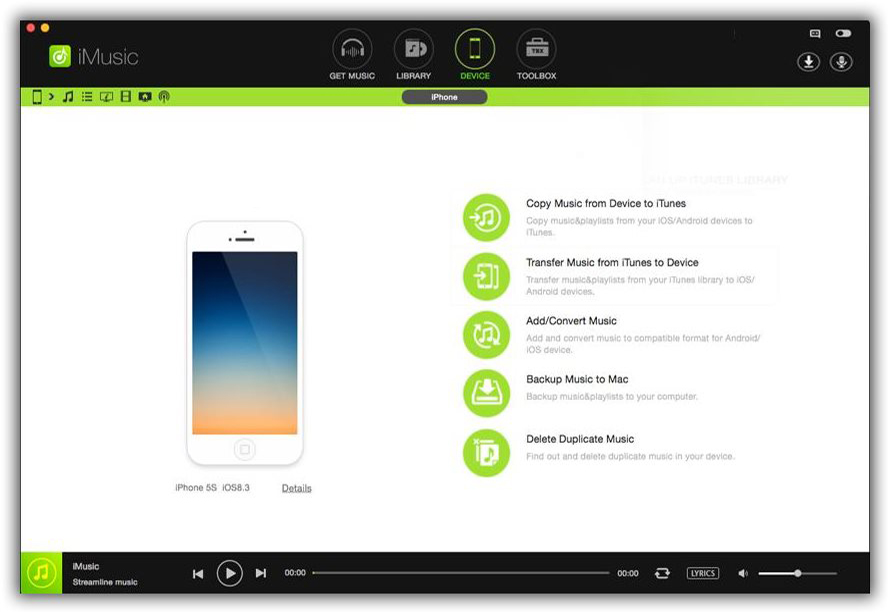 iSkysoft iMusic iPhone Transfer