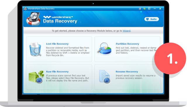 Data Recovery Step 1