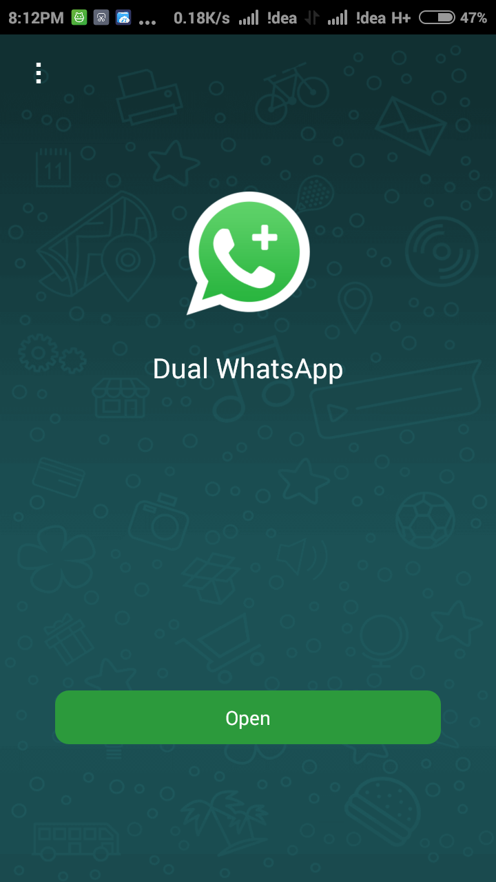 Run Dual Whatsapp on smartphones