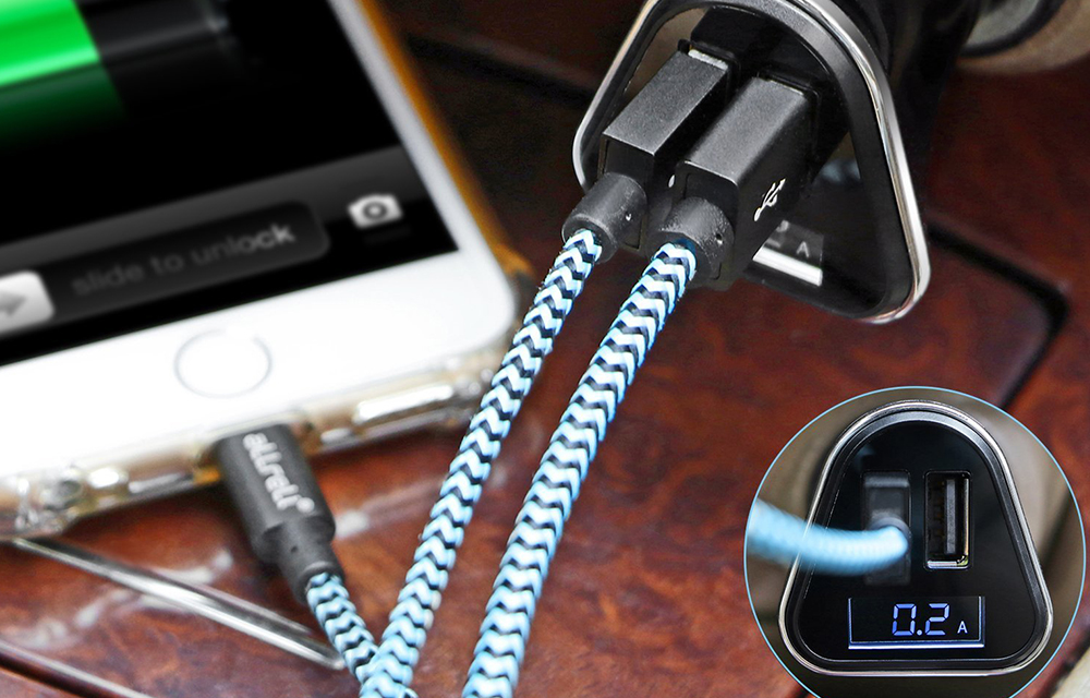 allreli-USB-Car-Charger-and-holder