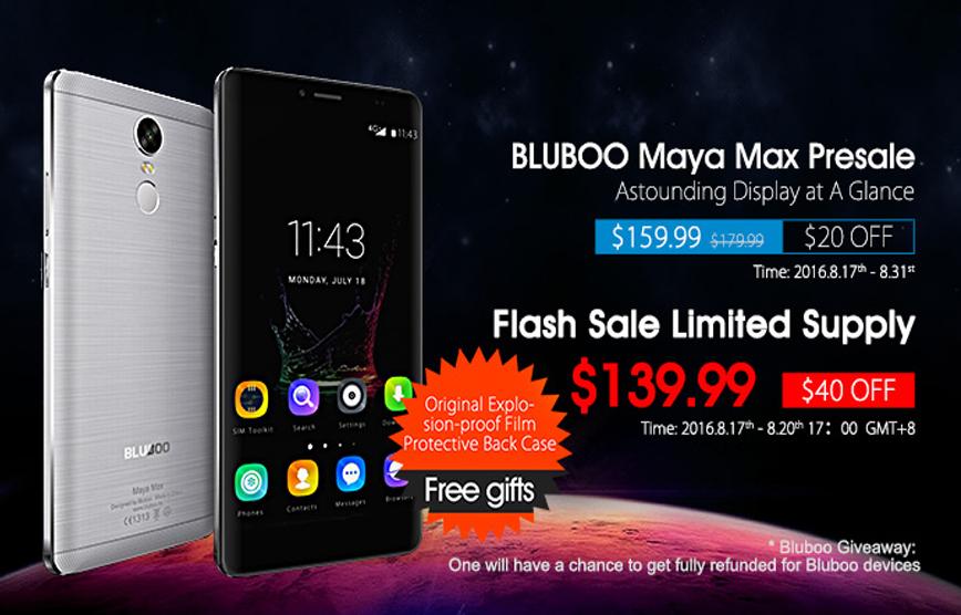 Bluboo-Maya-Max-Presale-Started