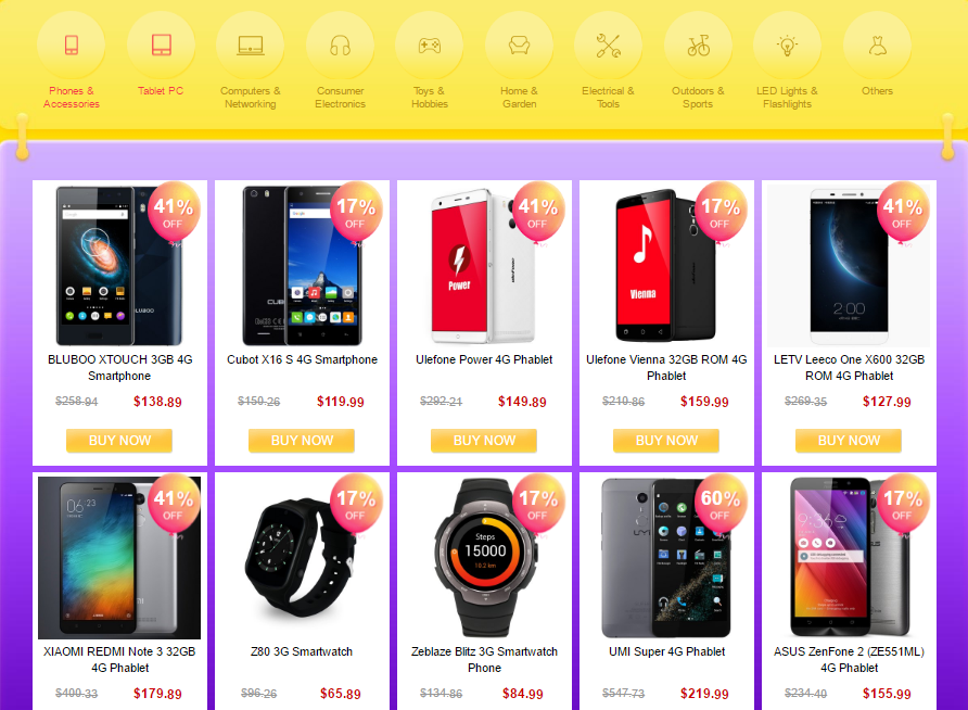 Gearbest Back to School Grab it at $1