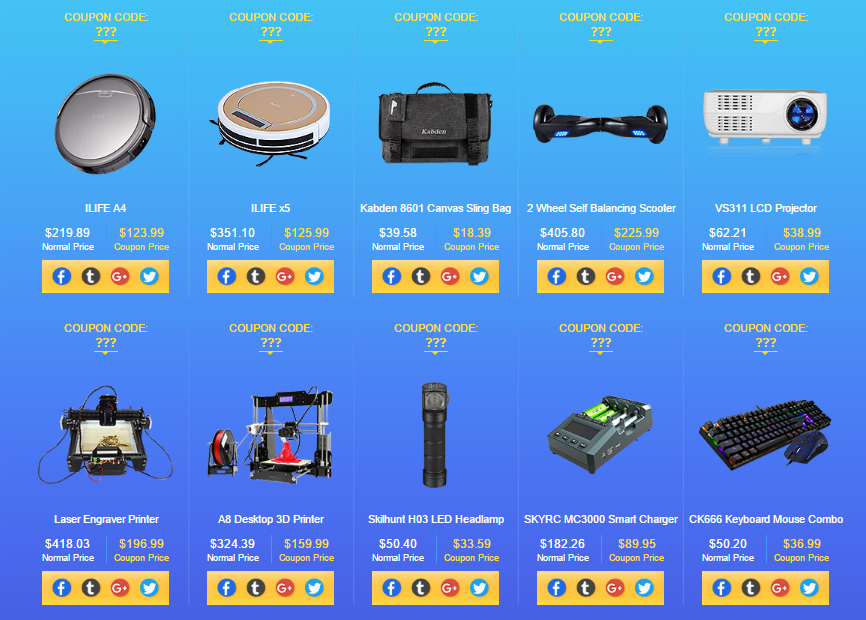 Gearbest Back to School Share to get your new term coupon code