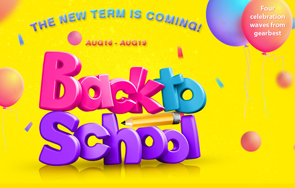 Gearbest Back to School