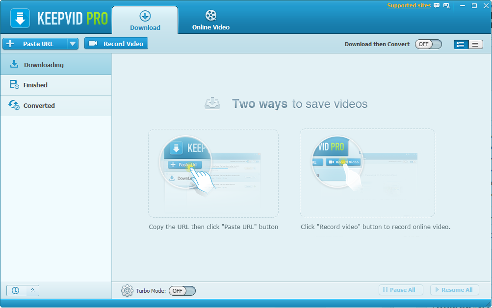 KeepVid-Pro-Video-Downloader-Interface