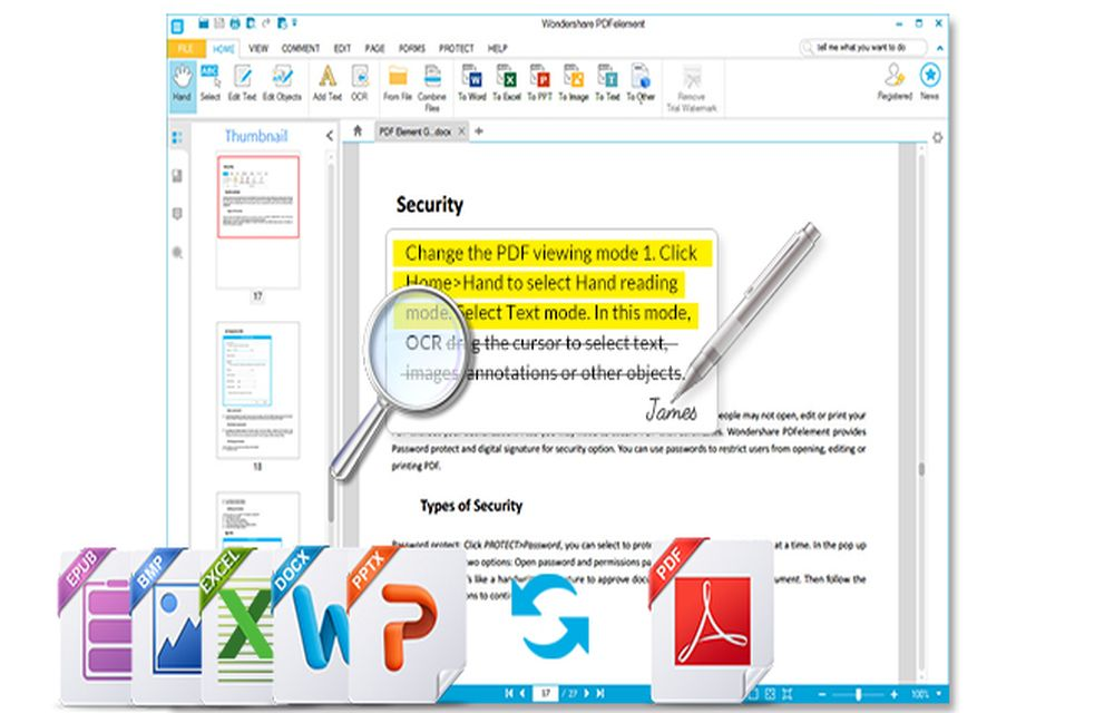 Wondershare PDFelement Makes an Easy Way for PDF Editing