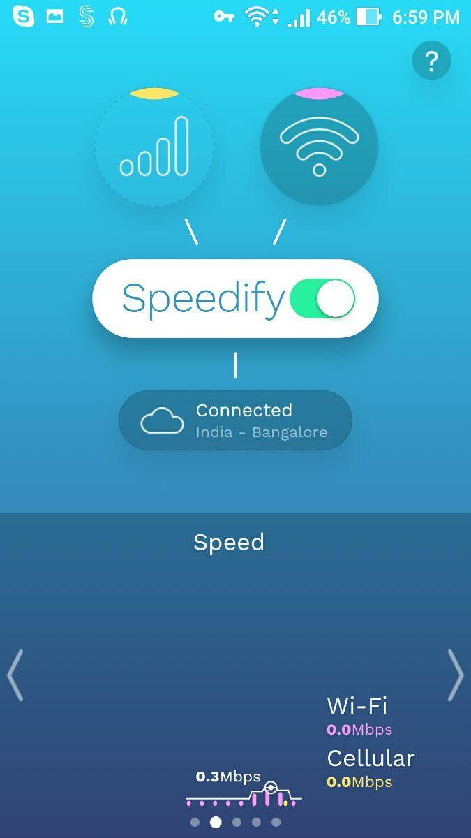 speedify-usage