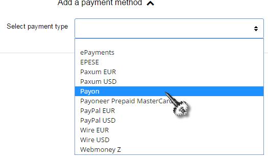 ClickAdU Vast Payment Options