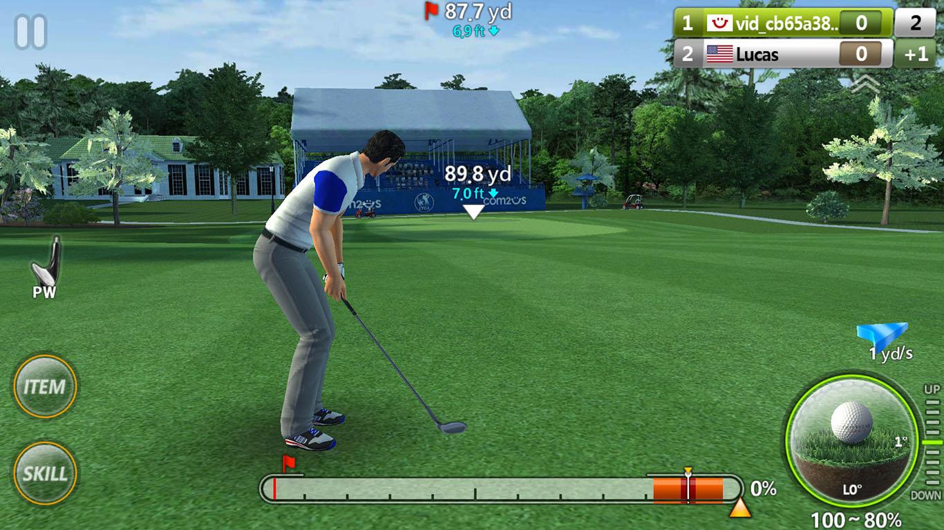 Online Golf Game