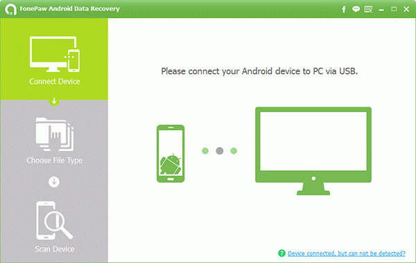 fonepaw-android-data-recovery-interface