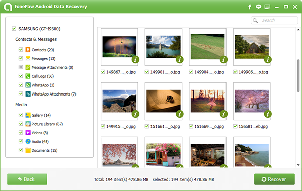 fonepaw-android-data-recovery-preview-files