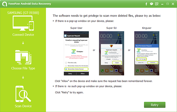 fonepaw-android-data-recovery-scan-process