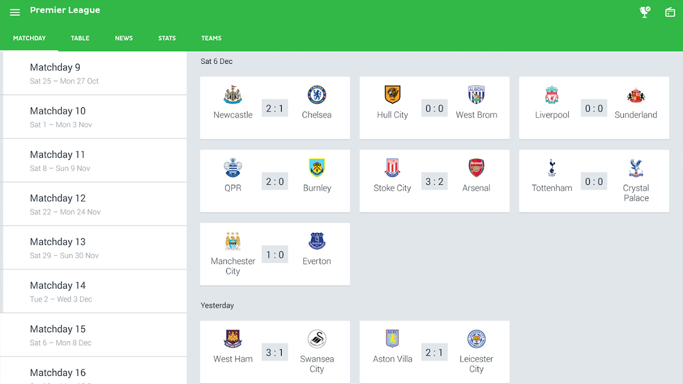 one football live soccer scores review