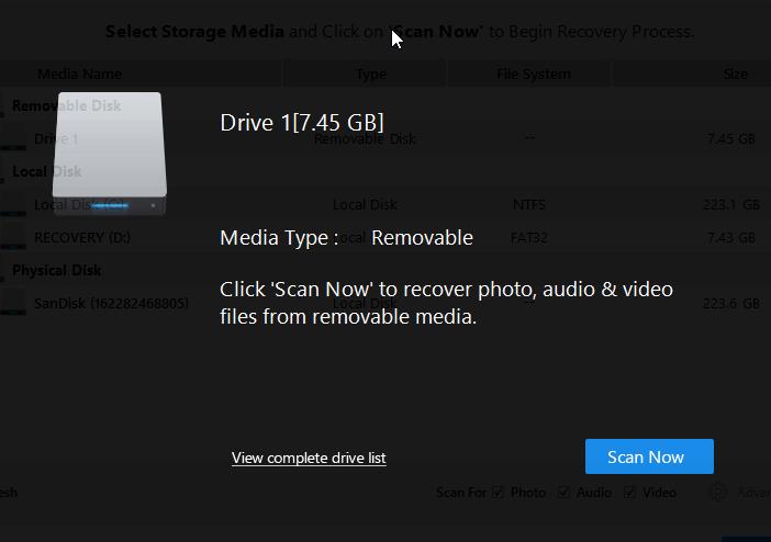 stellar-phoenix-photo-recovery-software-interface-2