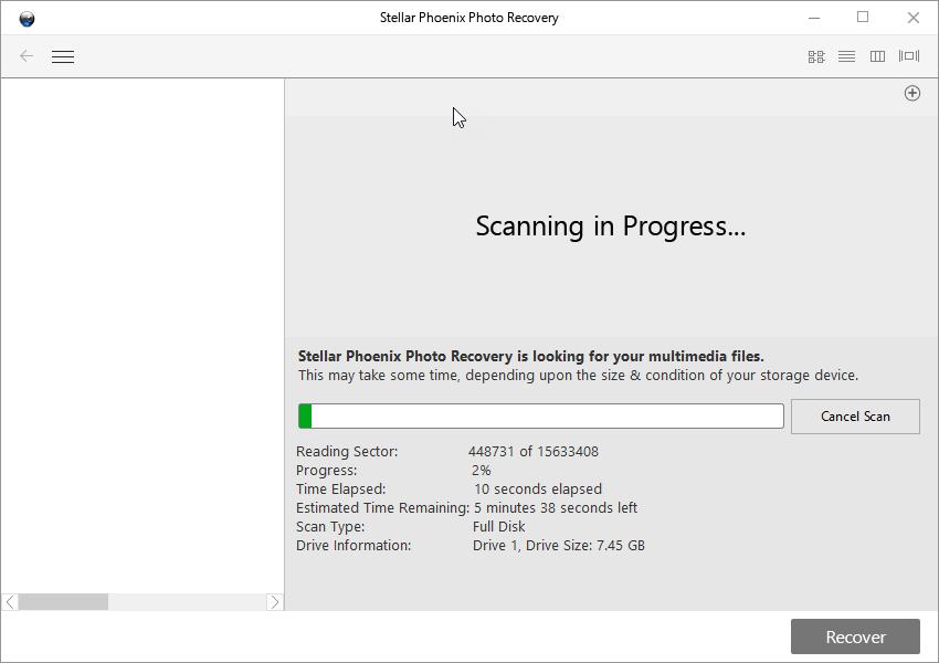 stellar-phoenix-photo-recovery-software-process