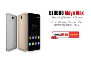 Bluboo Maya Max Features and Price cut at New Year Promo Sale