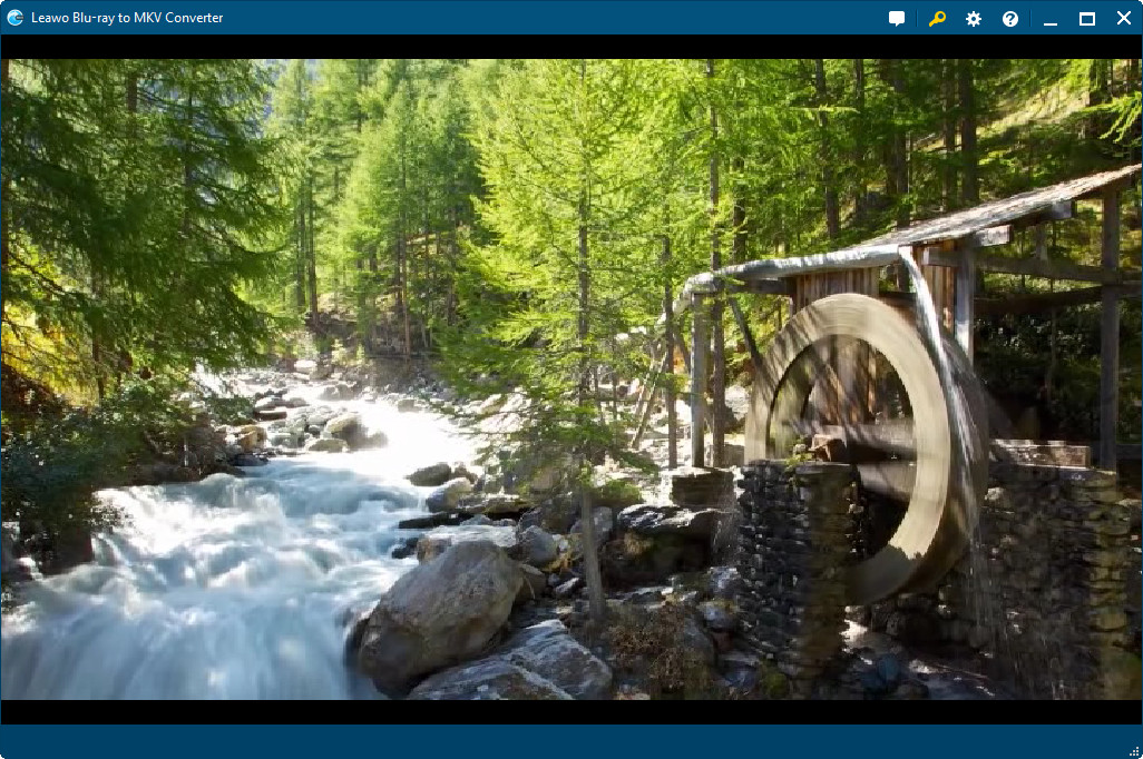 Leawo Blu-ray to MKV Converter Conversion