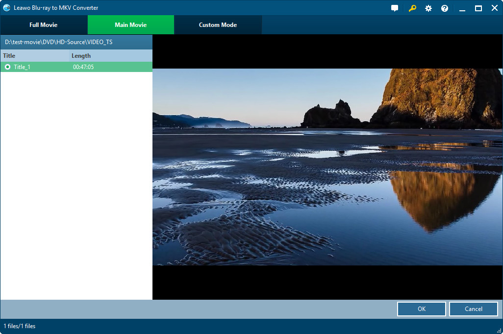 Leawo Blu-ray to MKV Converter Features