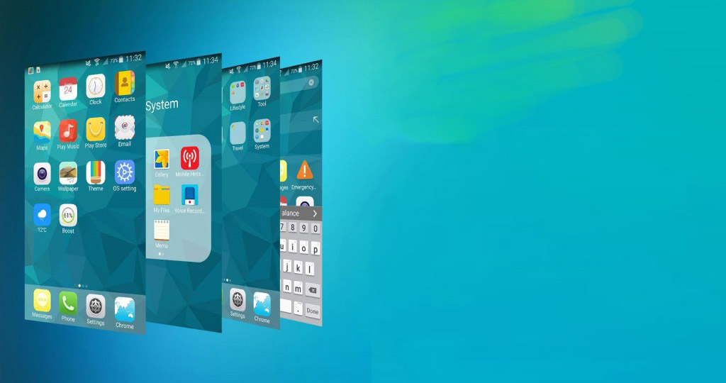 OS9 Apple iPhone Like Launcher