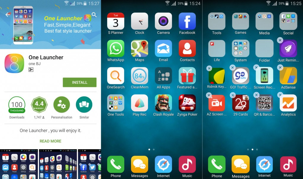 One Launcher for Android
